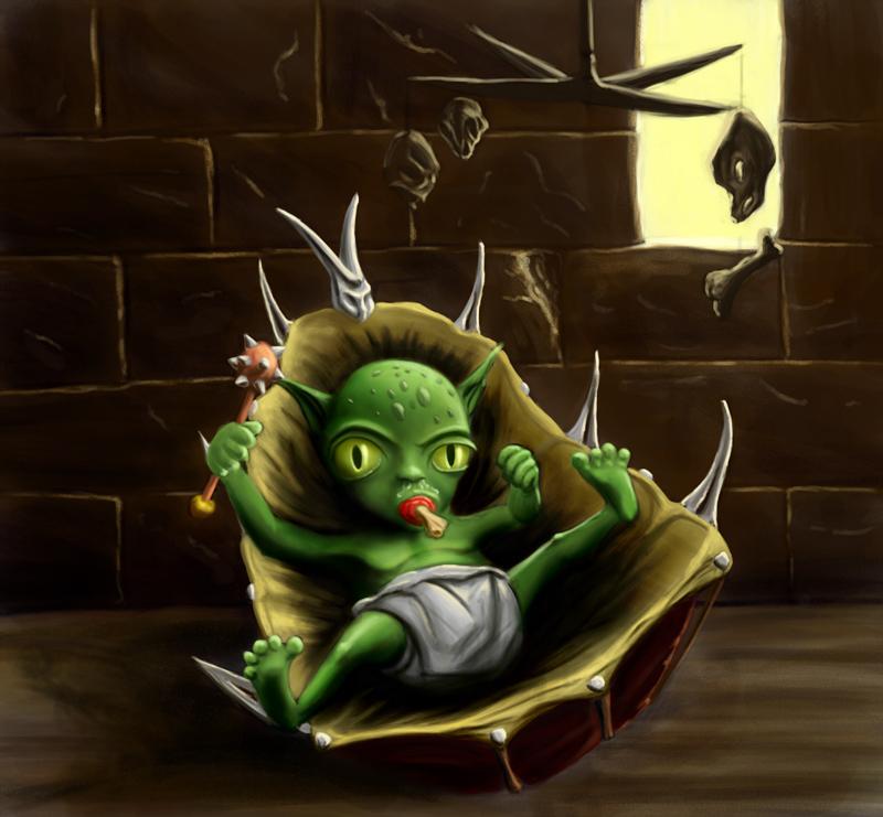 Sociable Susan Magazine: Short screenplay, The Goblin Baby