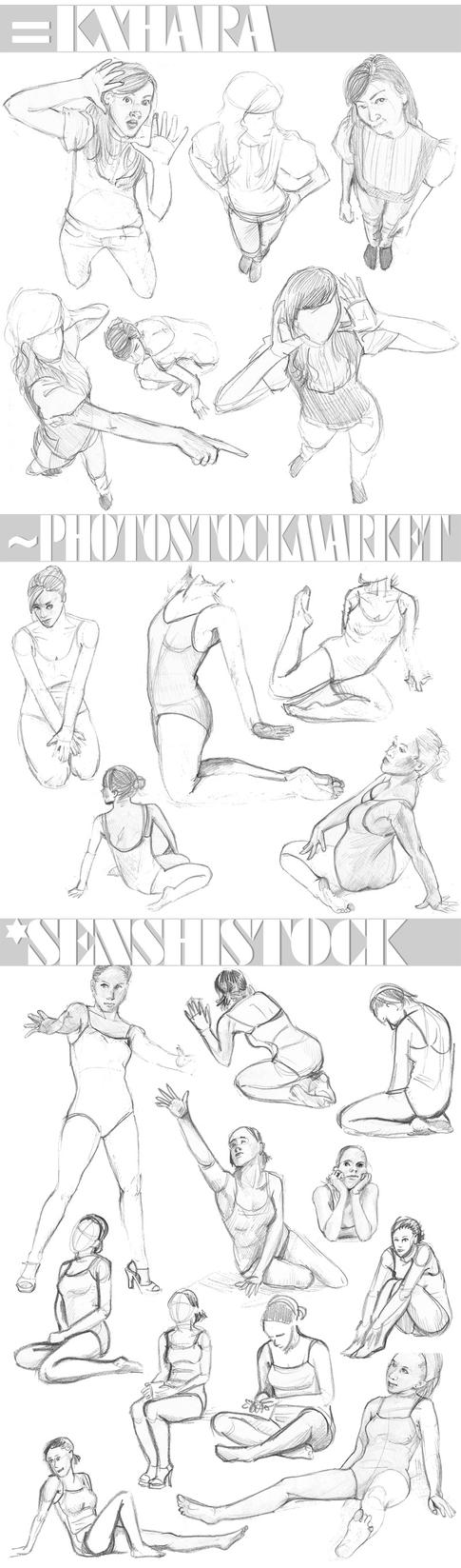 Sketch Select - Poses by Maivry