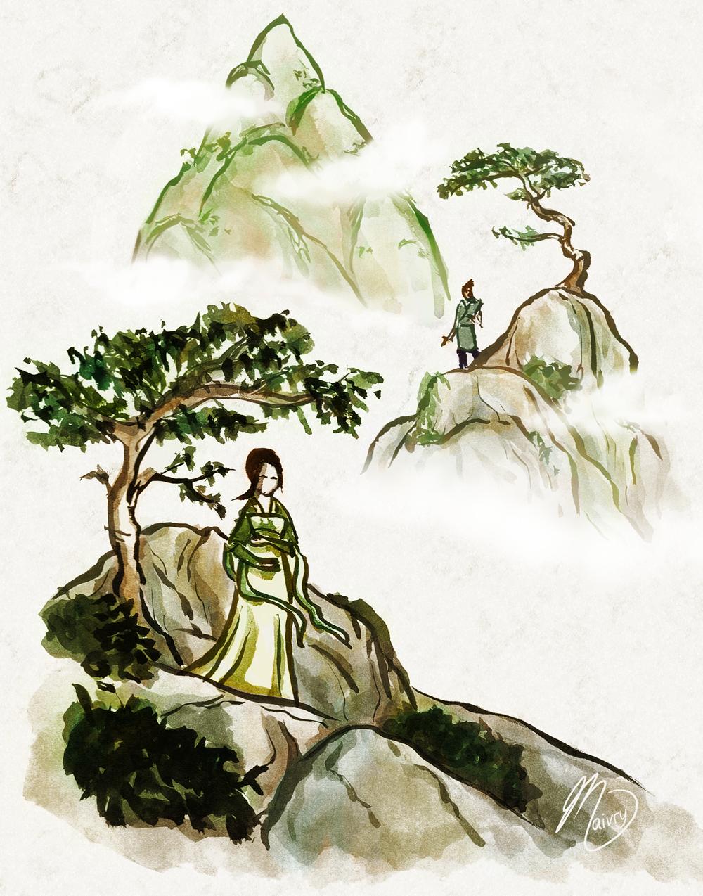 Tokka Month 2012: Legend by Maivry