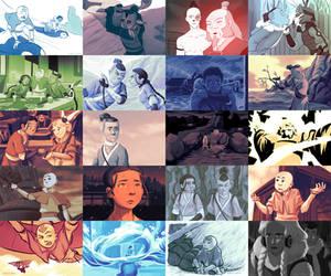 Avatar Redraws: Book Water