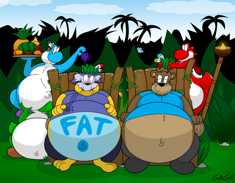 King's Of Fatty Yoshi Island by SnowGabumon