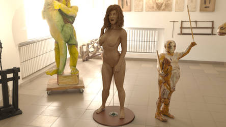 Denise - Sculpture Exhibition - By Minus269 by Curia-DD