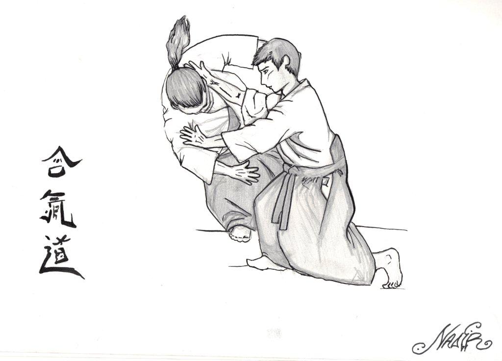 aikido technique by Eleirinio