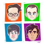 Big Bang Theory Guys