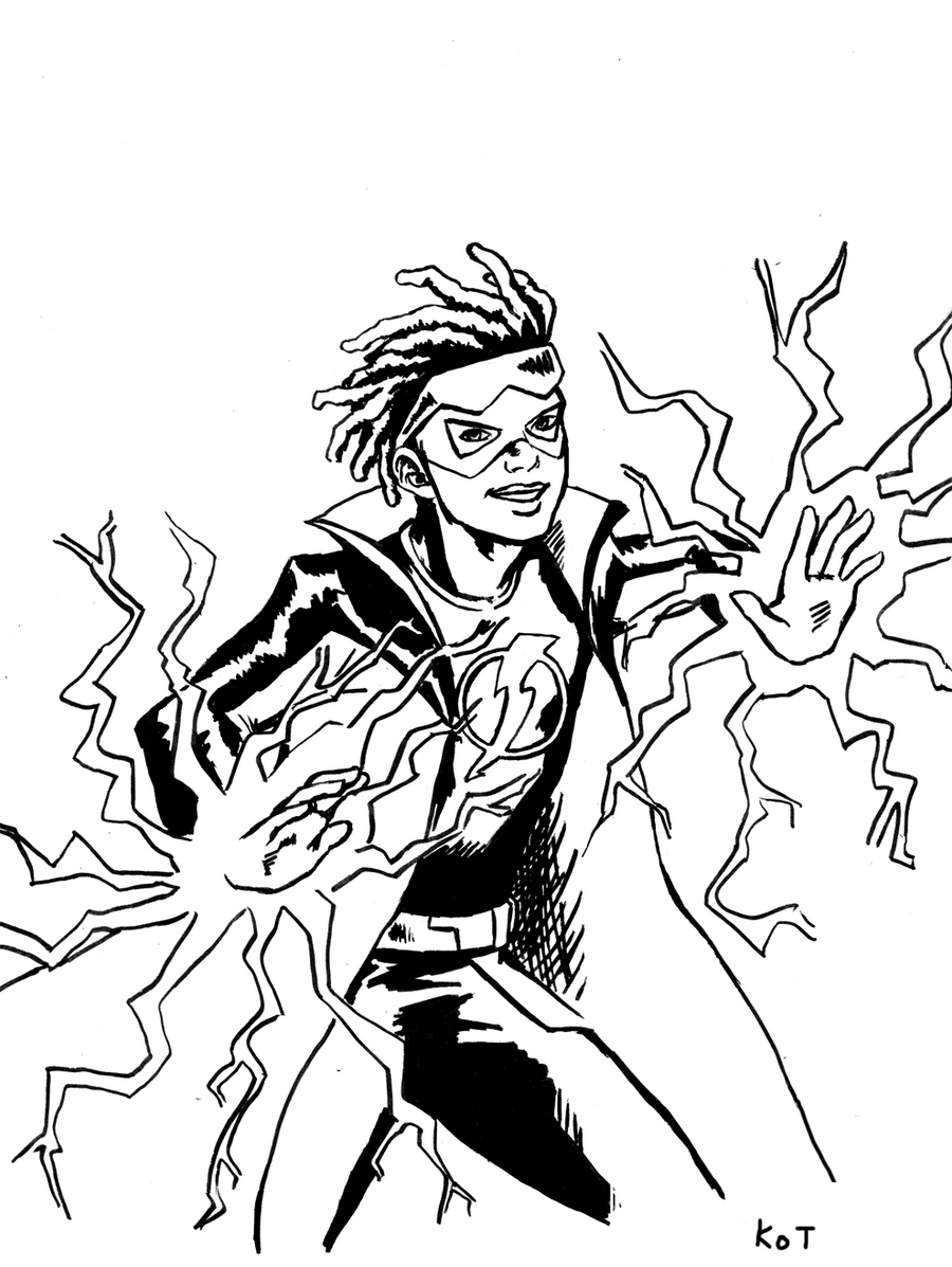 static shock coloring pages | Static Shock Coloring Pages - Learny Kids