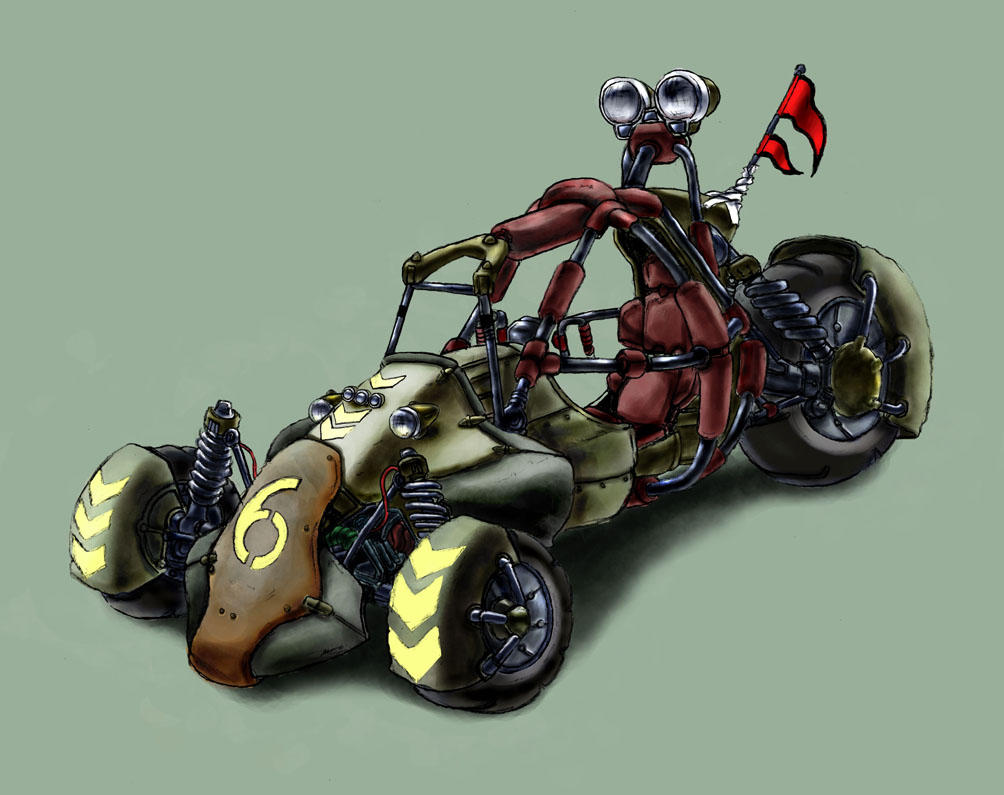 Oronde Rebels: Dune Buggy by ginrayluss