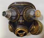 steampunk hunter gas mask