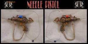 steampunk needle pistol
