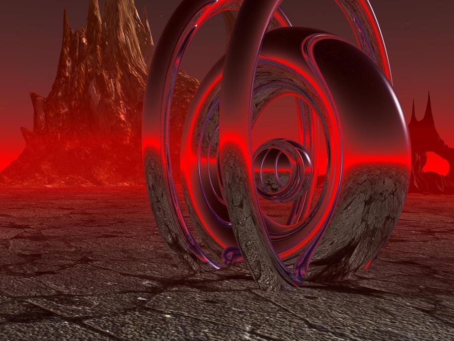 Crimson Shrine by DarkRiderDLMC