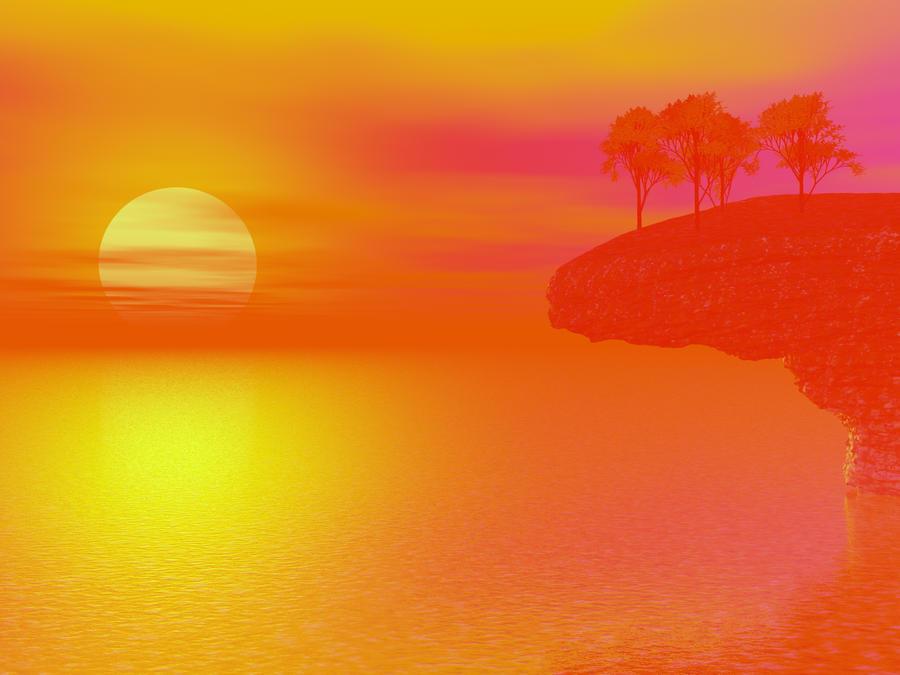 I miss the summer sun wallpaper by darkriderdlmc for Ecran photo sun