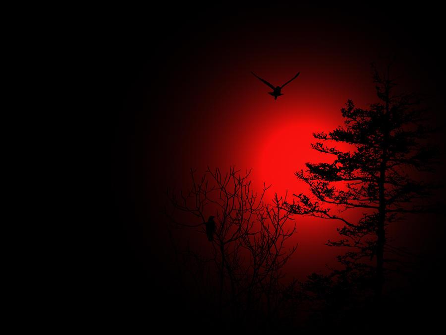 blood moon by DarkRiderDLMC