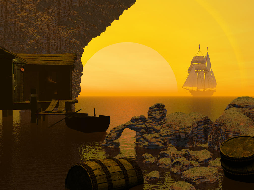 Smuggler's hideaway by DarkRiderDLMC