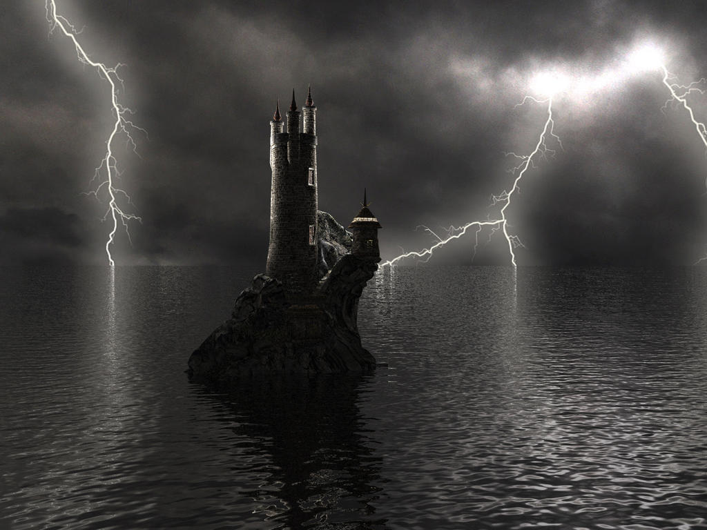 It was a dark and stormy night... by DarkRiderDLMC