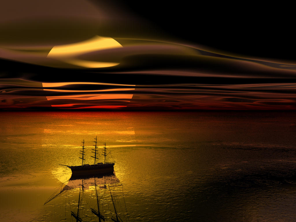 Hook, becalmed by DarkRiderDLMC