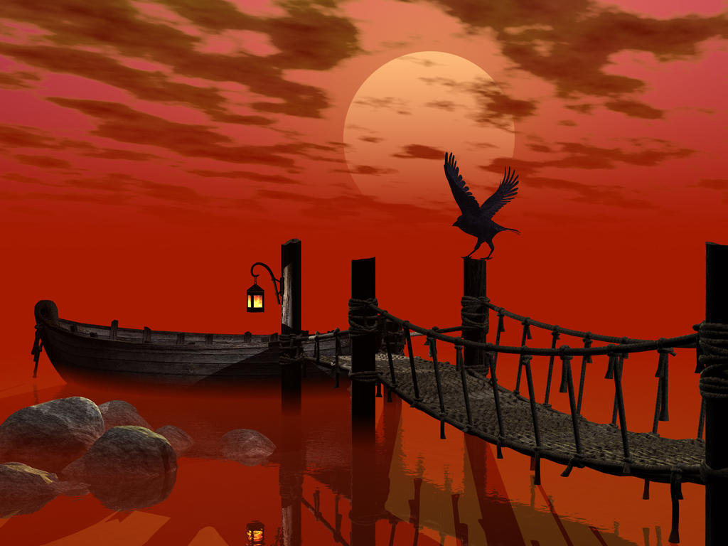 Blood Lake by DarkRiderDLMC