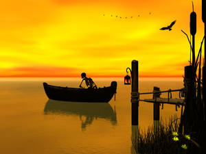 Sometime's life can slip it's mooring