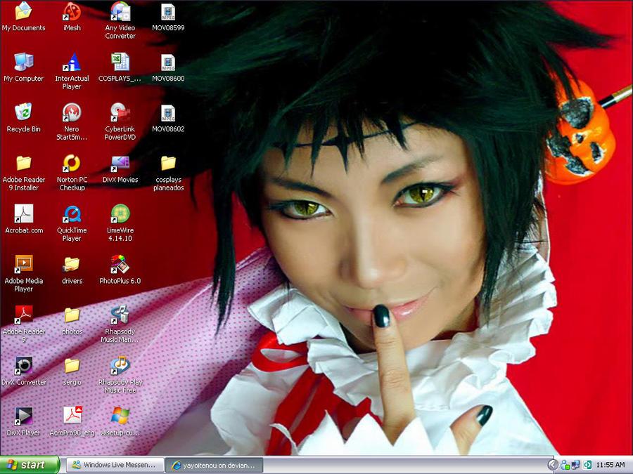 my new desktop x3 by yayoitenou