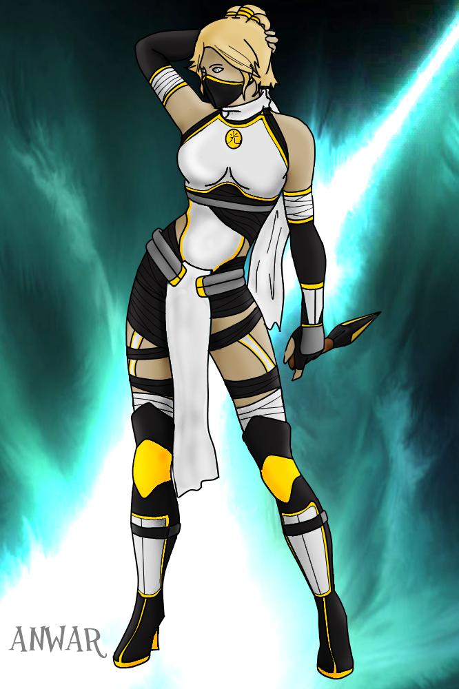 Mortal Kombat oc: ACID by boooooki on DeviantArt