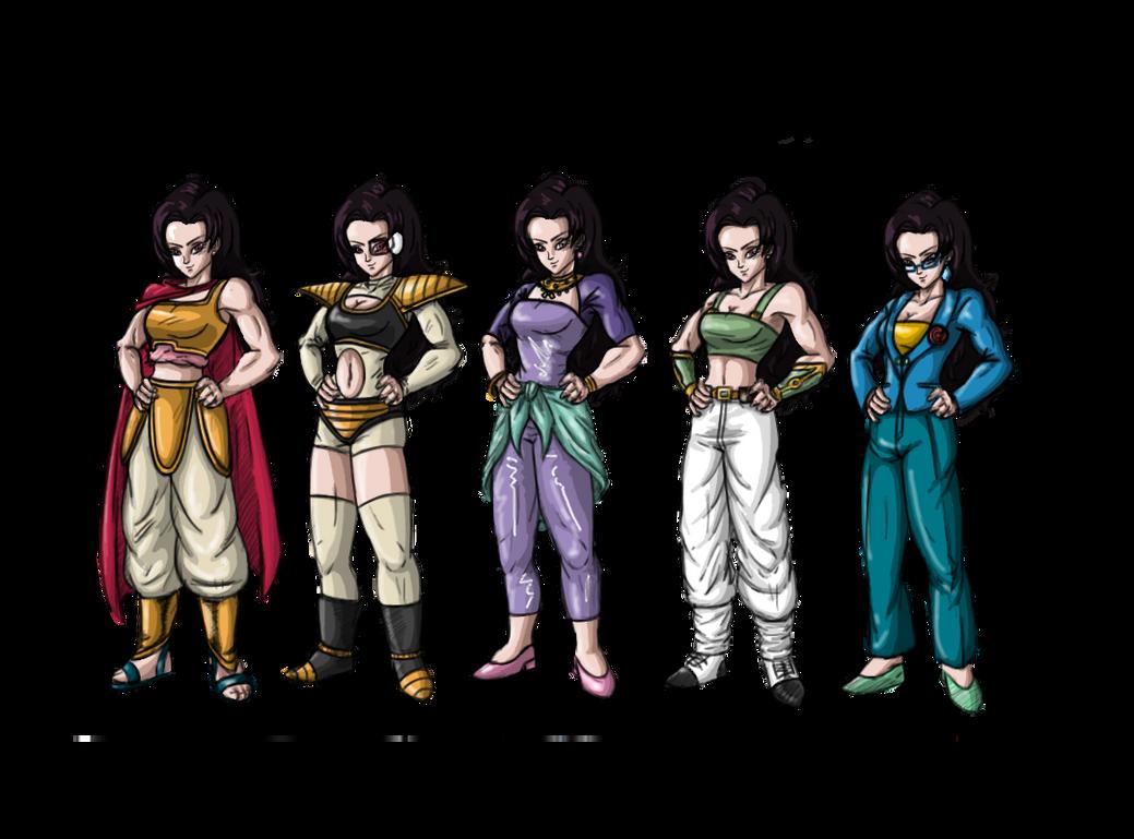 Paragon-Outfits 1 by RioAzimora