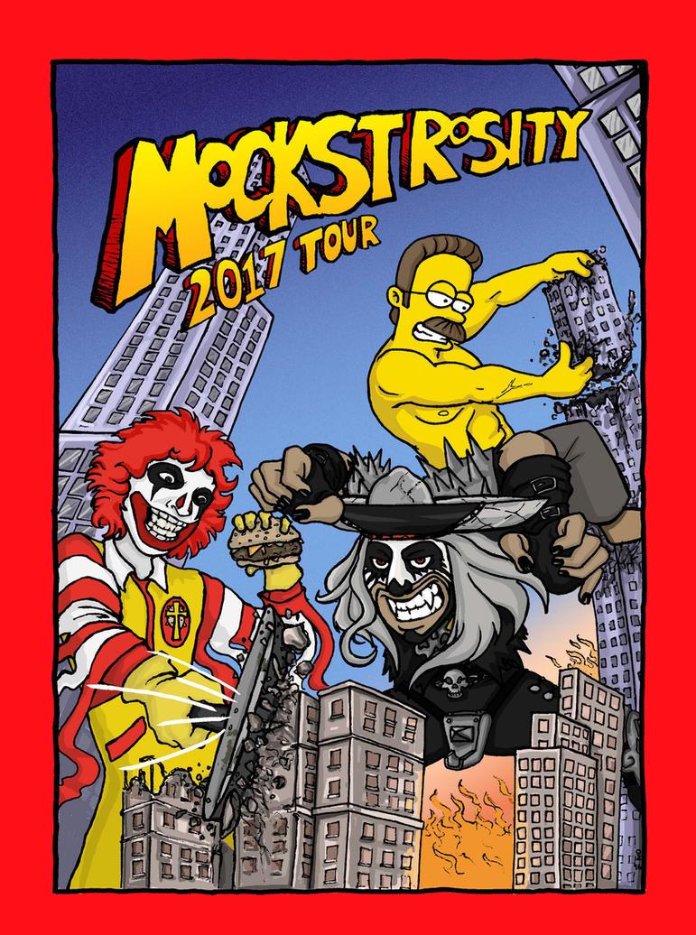 Mockstrocity Tour Poster by Orange-Zeppelin
