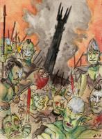 We are the fighting Uruk Hai by Orange-Zeppelin
