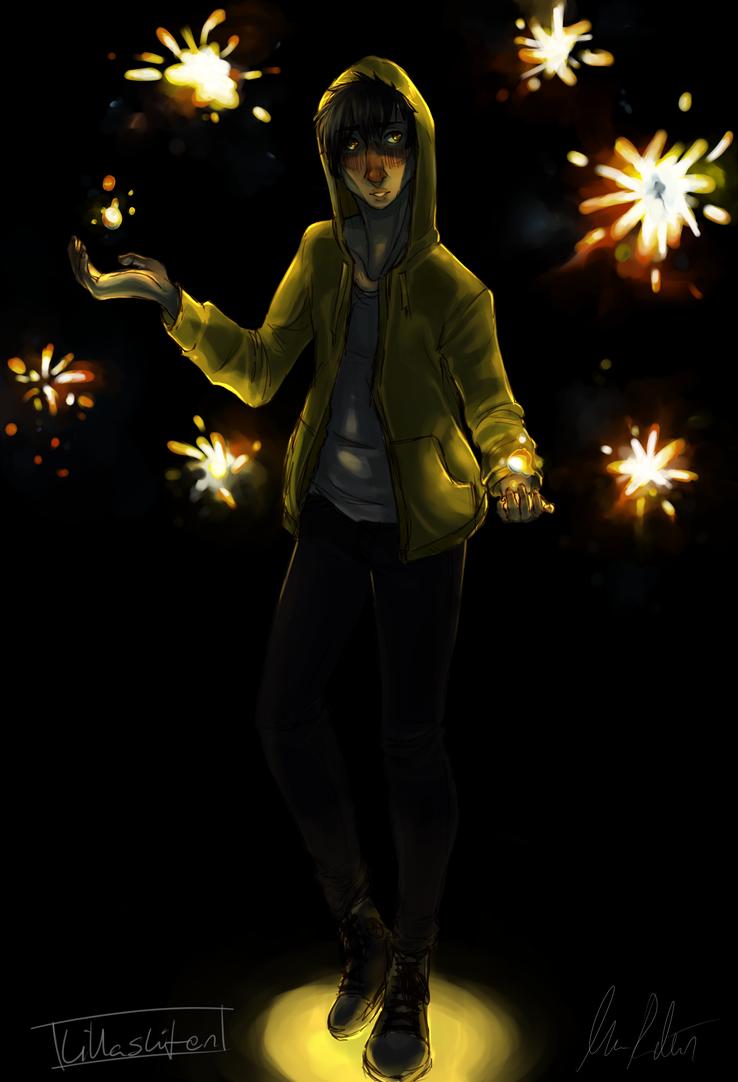 Fireworkboy by moimanga