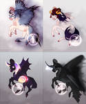 AUCTION: Halloween adopts pack [OPEN] by Torriyi