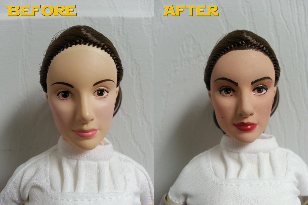 Star Wars Padme Amidala ooak doll by everenthia on DeviantArt Attackoftheclones
