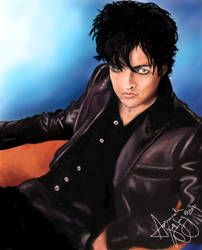 Billie Joe Armstrong in Color by AsharahWolfSong