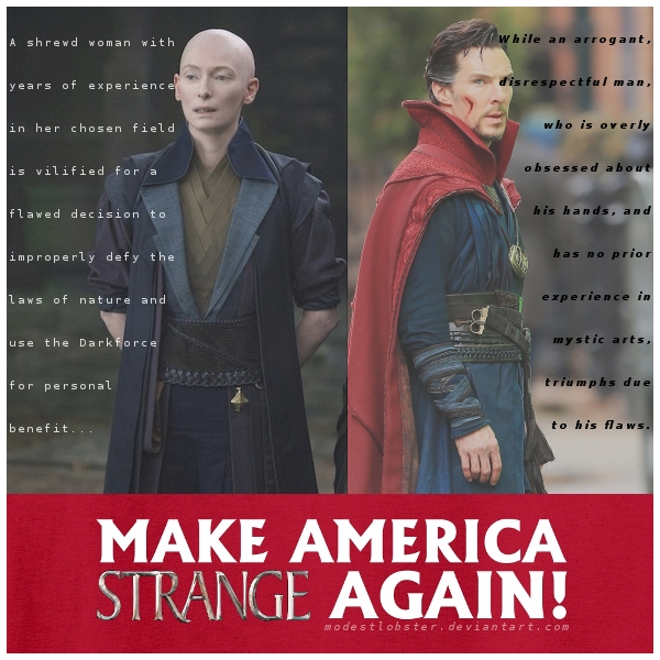 Change Your Reality: Make America Strange Again! by modestlobster