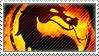 Mortal Kombat stamp