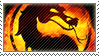 Mortal Kombat stamp by Metadream