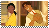 Tiana x Naveen stamp by Metadream