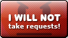 Deviation Buttons: No Requests