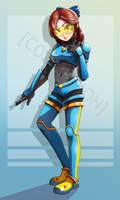 Commission: Armored Bridget