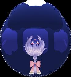 Plutia Swimsuit Blueberry by RandomWaifuInflator