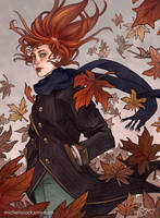 Autumn by SeaOfFireflies