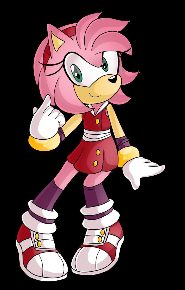 Sonic Boom (Amy) Minecraft Skin