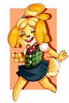 Isabelle by pinkiteru
