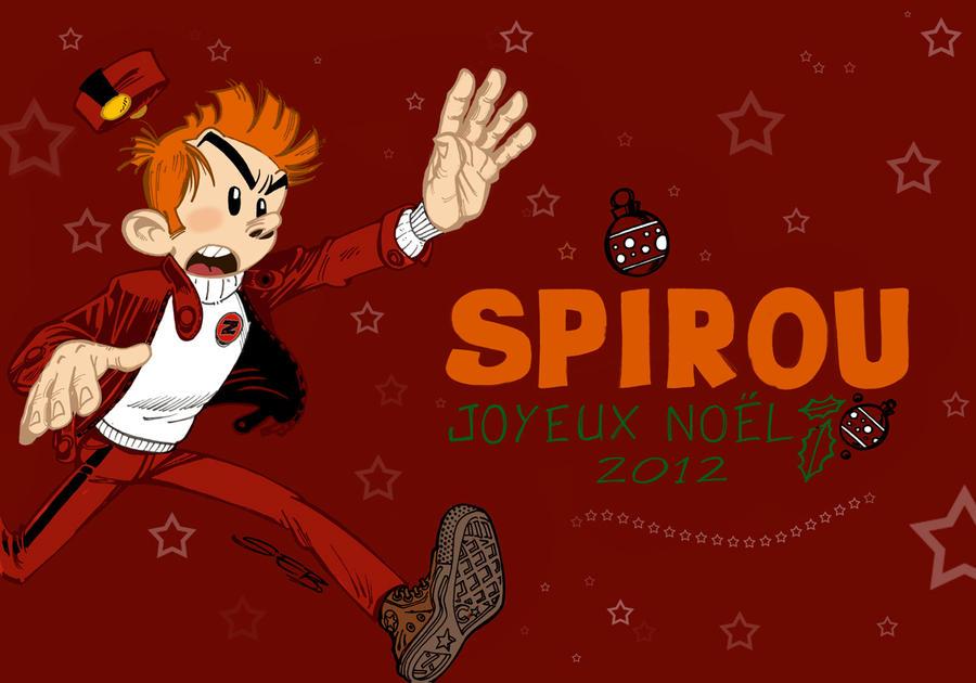 Spirou de Noel by Hagenmerac