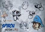 Sketchs Spirou
