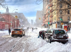 And it's winter here .. NYC