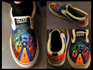 Muse Custom Shoes