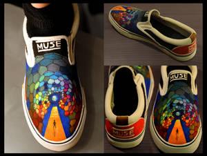 Muse Custom Shoes