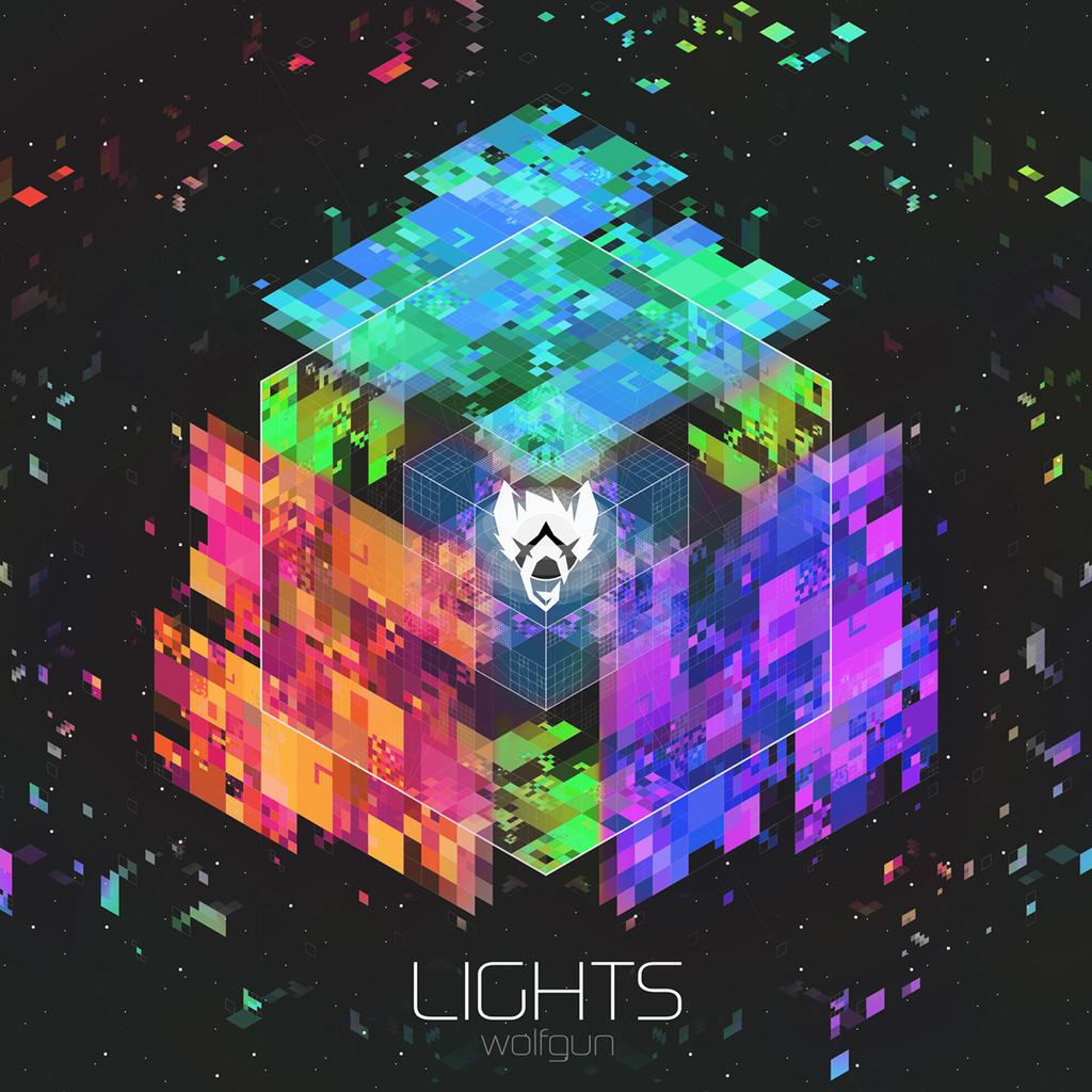 LIGHTS Album Art by Bonvallet