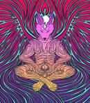 Zen Fox by Bonvallet