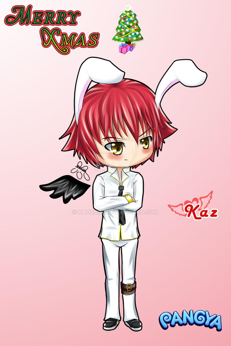 PY - Bunny Kaz, Chirstmas 09 by kaorune
