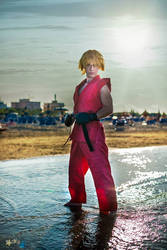 Ken Masters cosplay by Alexcloudsquall