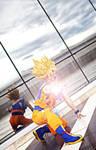 Goku cosplay .:I will never surrender!:.