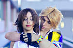 Tidus and Yuna cosplay .:don't leave me:.